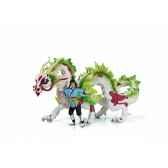 figurine amie et dragonniere de nugur animaux schleich 70446