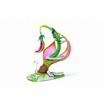 Figurine Tournesol cabane des elfes perchée schleich 42077