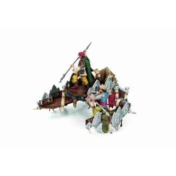 Figurine héros Equipement pour éléphant de combat schleich 42079