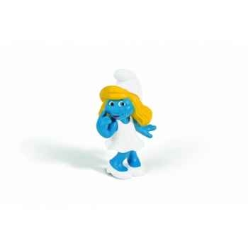 Figurine schtroumpfette, rêveuse animaux schleich 20731