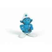 figurine schtroumpf costaud animaux schleich 20732