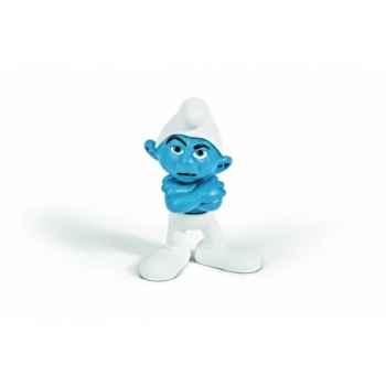 Figurine schtroumpf grognon animaux schleich 20733