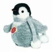 peluche hermann teddy pingouin 15 cm 90016 0