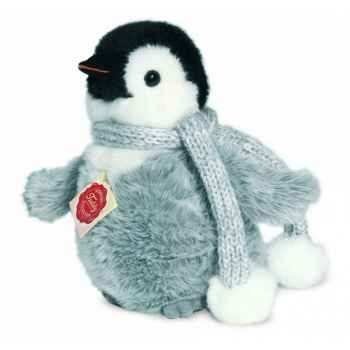 Peluche hermann teddy pingouin 15 cm -90016 0