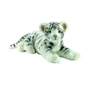 """Anima - Peluche tigre blanc \""""junior\"""" 35 cm -4754"""