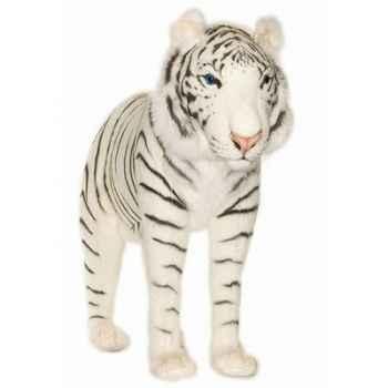Anima - Peluche tigre blanc à 4 pattes 100 cm -3716