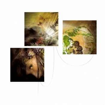Triptyque de tableaux lumineux mitsu Ibride triptyque