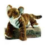 anima peluche tigre brun insolent 38 cm 4760