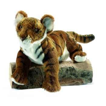 "Anima - Peluche tigre brun \""insolent\"" 38 cm -4760"