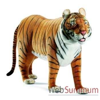 Anima - Peluche tigre brun à 4 pattes 160 cm - 4329