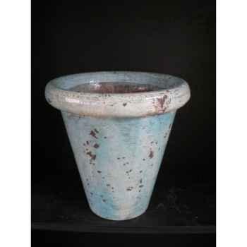 Pot droit turquoise petit V-CO-small-T