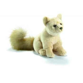 Peluche anima renard polaire 25cmh  ushuaia junior -103