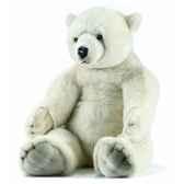 peluche anima ours polaires assis 100cmh ushuaia junior 106