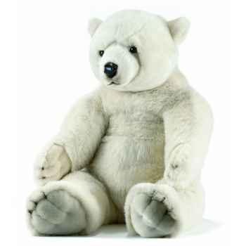 Peluche anima ours polaires assis 100cmh ushuaia junior -106