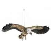 peluche vautour en vo95cm d envergure anima 5787