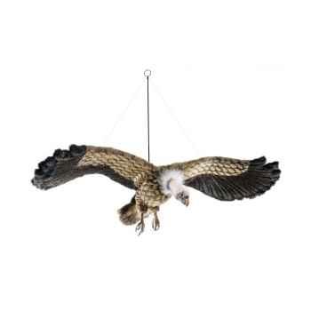 Peluche vautour en vol 95cm d\'envergure  anima -5787