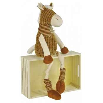 Peluche vagabond pantin longues jambes - cheval histoire d\'ours -2072