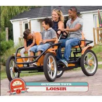 Vélo familial grantour af noir/orange berg toys -29.07.81