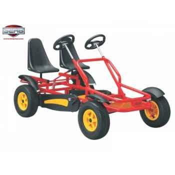 Vélo familial clipper rouge berg toys -29.06.52
