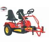 velo familiawagon pour clipper rouge berg toys 291603