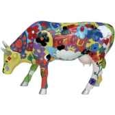 cow parade groovy moo 46330