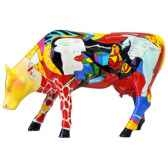 cow parade hommage to picowso s african period 46363