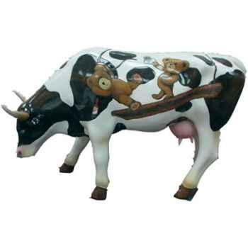 Cow Parade -Harrisburg 2004, Artiste Wayne Fettro - Old Pawsides-46343