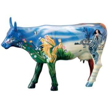 Cow Parade -Houston 2001, Artiste Candida Bayer - Four Seasons-46356
