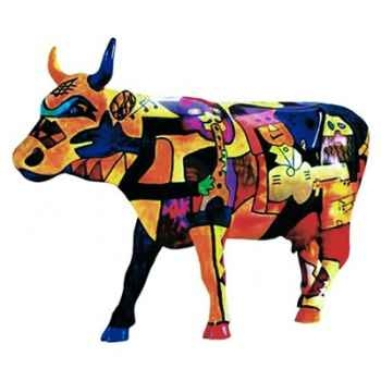 Cow Parade -Houston 2001, Artiste Claer Lake High School - Picowso's Moosicians-46153