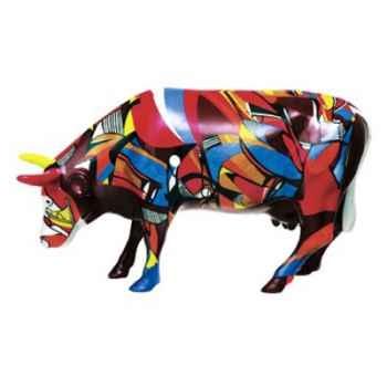 Cow Parade -Kansas City 2001, Artist Cathy Kenton - Psycodelicowwow-46387