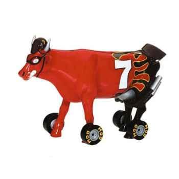 Cow Parade -Kansas City 2001, Artiste Charlie Podrebarac - Nacow Stockyard Racecow-26219