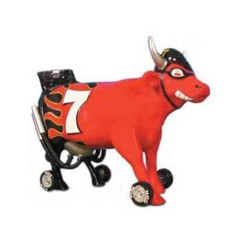 Cow Parade -Kansas city 2001, Artiste Charlie Podrebarac -Nacow Stockyard Racecow -49206