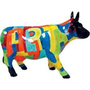 Cow Parade -Kansas city 2001, Artiste Cynthia S,Hdson -Art of America-41256
