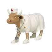 cow parade las vegas 2002 artiste angelic fedevich matt kiovatch nurse nightencow 47357