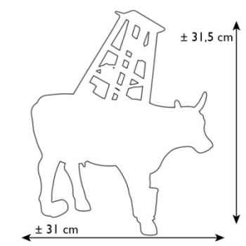Cow Parade -Mexico City 2006, Artiste Leslie Zaide Zaidenweber - Muuu Travies-46391