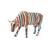 cow parade new york 2000 artiste cary smith striped 20112