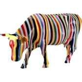 cow parade new york 2000 artiste cary smith striped 41255