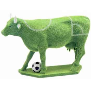 Cow Parade -Prague 2004, Artiste Eric Rastko & Vojislav Savic - Football Cow-46376