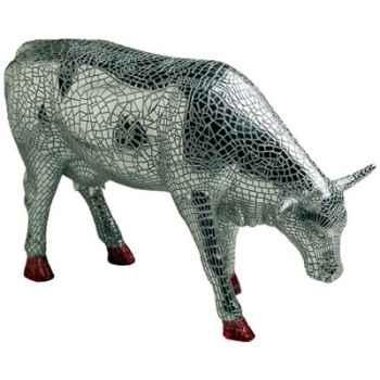 Cow Parade -San Antonio 2002, Artiste Margaret Pedrotti - Mira Moo-46342