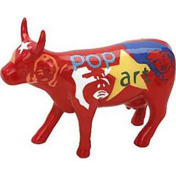 Cow Parade -Stockholm 2004, Artiste Johnny Acosta -Pop Cow 1-41570