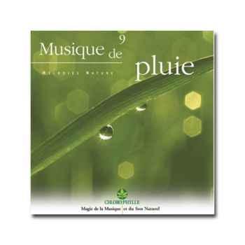 CD - Musique de Pluie - Chlorophylle