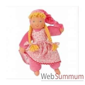 Poupée waldorf schatzi pink kathe kruse 38204