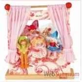 theatre bois fip elfes avec 5 marionettes kathe kruse 60462