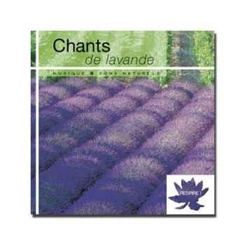 CD - Chant de lavande - Respire