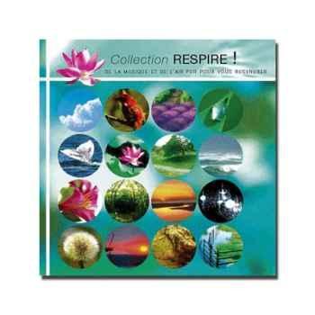CD - Disque collection : on respire - Respire