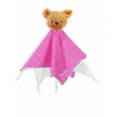peluche steiff ours dors bien doudou rouge 237195