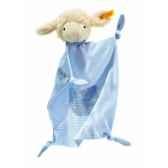 peluche steiff agneau fais de beaux reves doudou bleu 237348