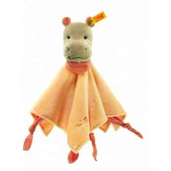 Peluche steiff hippo mockyli doudou, apricot -237751