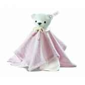 peluche steiff selection ours teddy doudou rose 239304