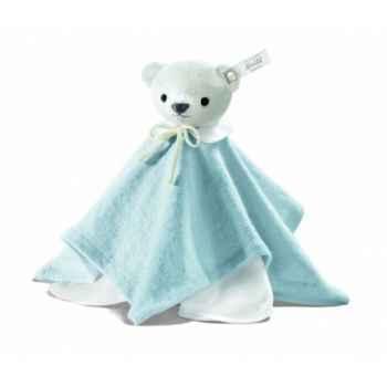 Peluche steiff selection ours teddy doudou, bleu -239342